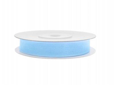 organza lint 6 mm licht blauw