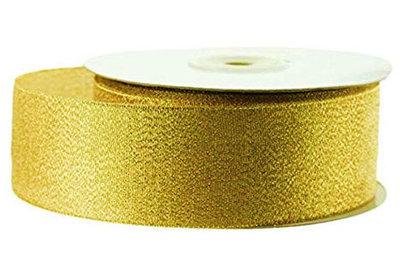 Lint goud metallic 4 cm