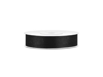 Grosgrain lint 15 mm zwart