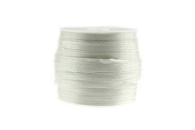 Satijn lint 3 mm Ivoor