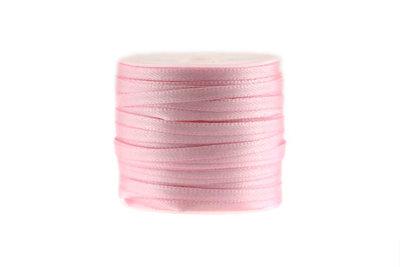 Satijn lint 3 mm Roze
