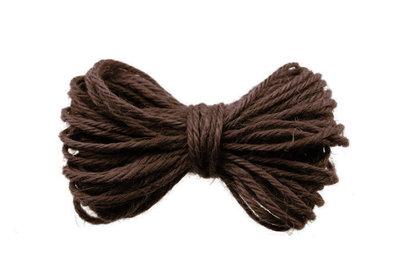 10 meter Hennep touw bruin