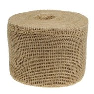 Jute lint naturel 15 cm breed per meter